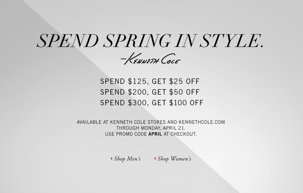 Spend Spring In Style.